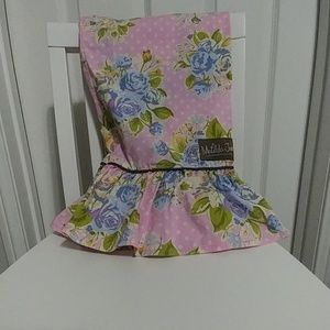 Matilda Jane pink garden casual pants 6